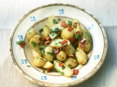 Aardappelen met spek en koriander recept - Aardappel - Eten Gerechten - Recepten Vandaag