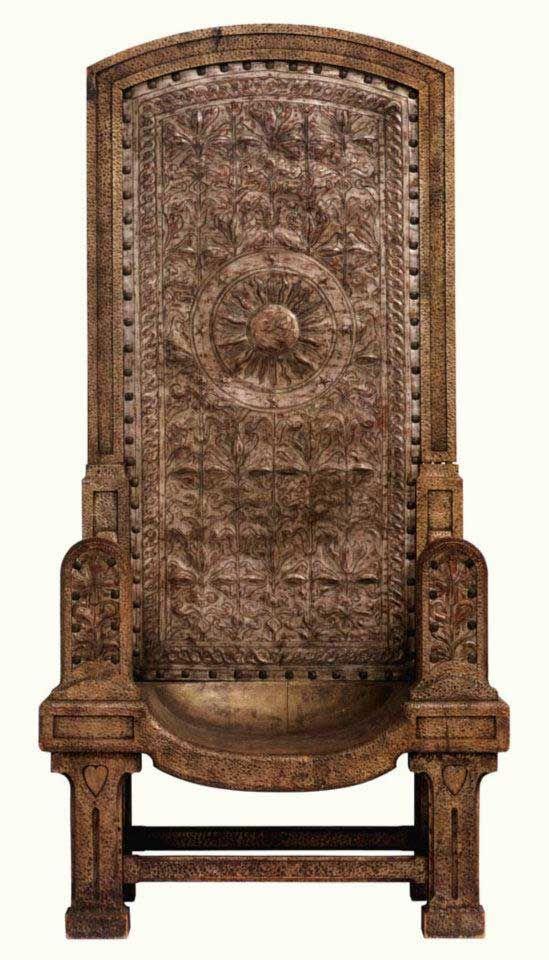 Romania - Audience Chair (c. 1900-1910)