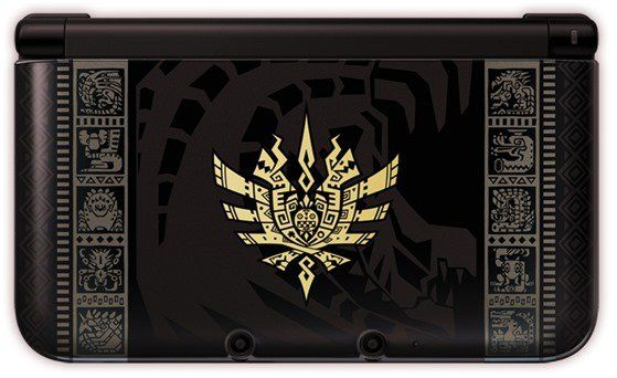 A Closer Look At The Monster Hunter 4 Limited Edition 3DS XL Systems - Siliconera