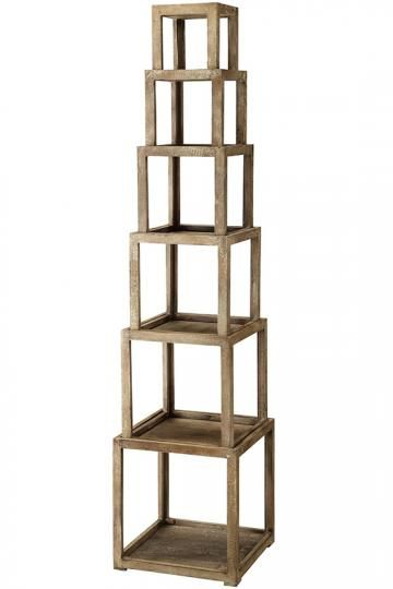 Brooklyn Stackable Etagere - Open Bookcase - Etagere - Accent Shelving - Arts And Crafts Furniture | HomeDecorators.com