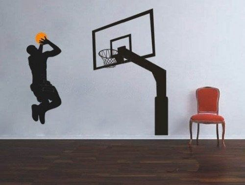 Superior Play Basketball Man Sport Sports Decal Wall Stickers By Goodsale1. , Via  Etsy. $35 Amazing Design