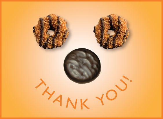 Girl Scout Thank You