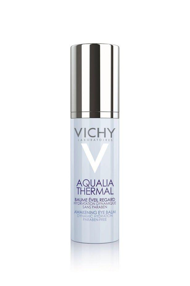 Mit AQUALIA THERMAL AUGEN hat VICHY den ersten Augenbalsam entwickelt, der die Wasserzirkulation der Augenpartie den gesamten Tag lang regeneriert.