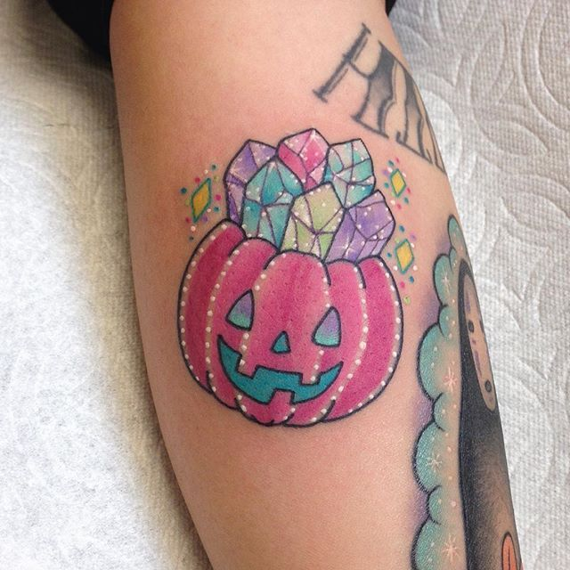 halloween flash tattoos portland