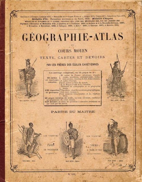 Géographie-Atlas du Cours Moyen (1906) par les Frères des Ecoles chrétiennes