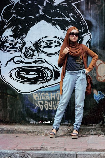 saturday: Style Inspiration : Yogyakarta Street Style