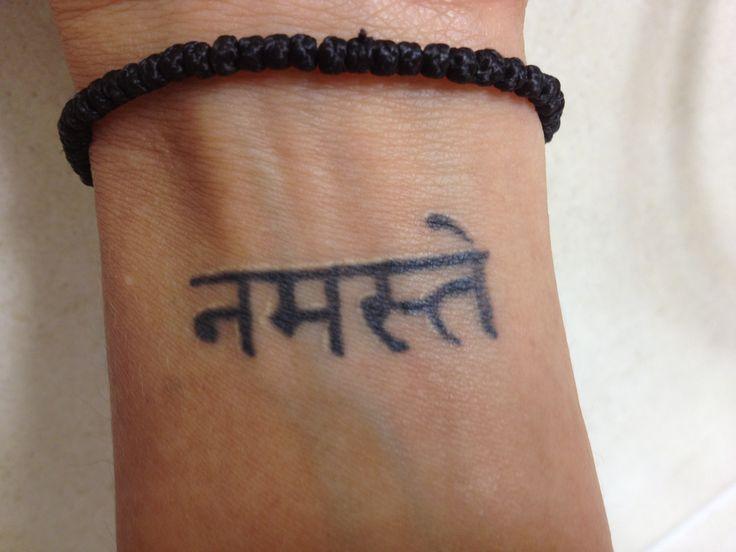 Namaste Symbol Tattoo | www.imgkid.com - The Image Kid Has It!