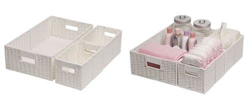 Mor-Stor Paper Rope Change Table Set of 3 - UrbanBaby