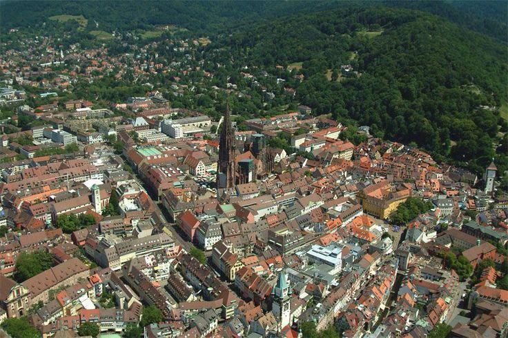 A view of Freiburg im Bresgau, south Germany.