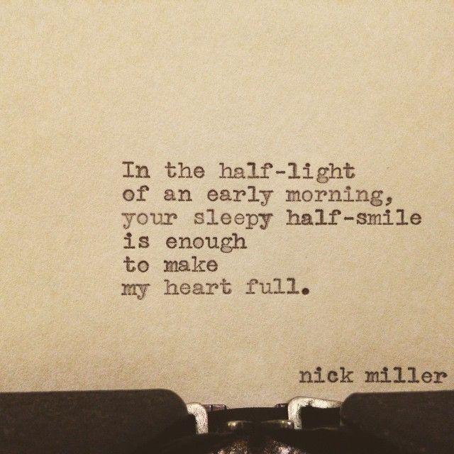 Nick Miller's Tumblr