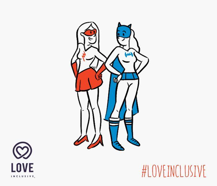 Toda heroína necesita una compañera. Yo quiero salvar al mundo a tu lado. #Heroines #GirlsInLove #LovelyLadies