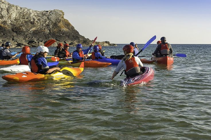 Kayak, Porth Dafarch, Anglesey - Visit Wales