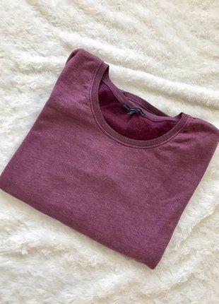Kup mój przedmiot na #vintedpl http://www.vinted.pl/damska-odziez/bluzy/17482089-piekna-bordowa-bluza-z-dwukolorowymi-rekawami-roz-l