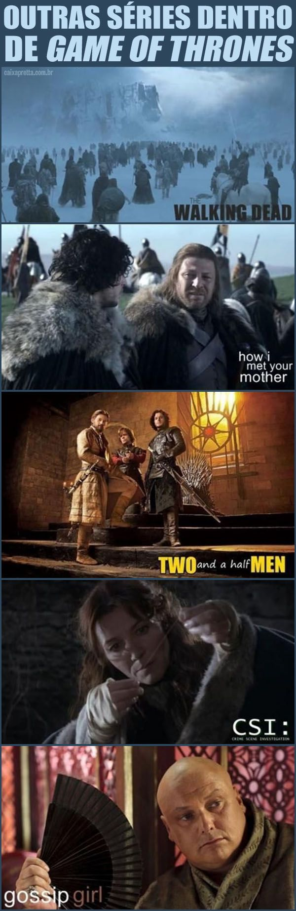 Other series inside Game of Thrones - I laughed too hard