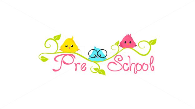 preschool creative logo design for inspiration by