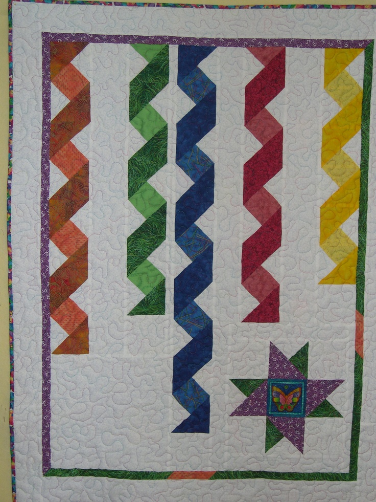 Ribbon Quilt For Baby Elizabeth Tecnicas Variadas De
