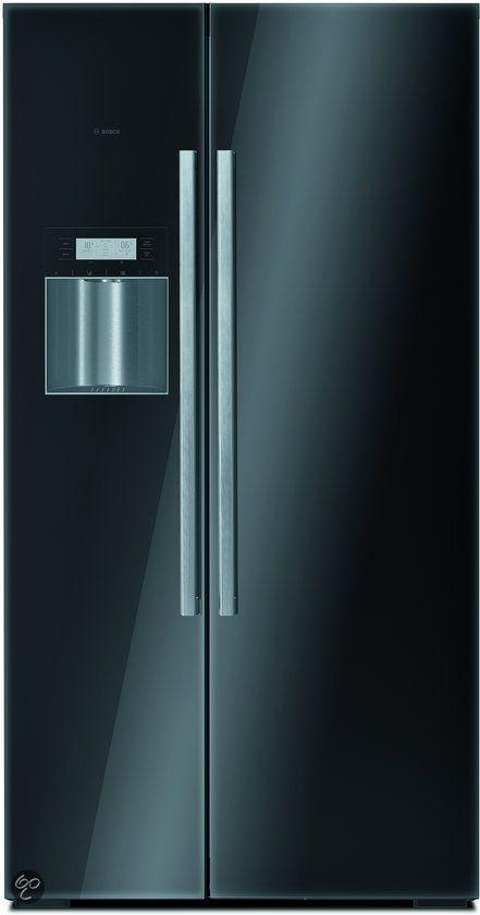 Bosch Amerikaanse Koelkast KAD62S51 - Zwart