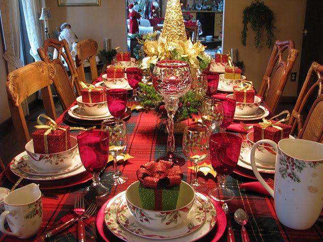 Decorar la mesa en Navidad | Decorar tu casa es facilisimo.com