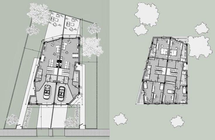 Progetto casa bifamiliare definizioni architettura for Programmi 3d architettura