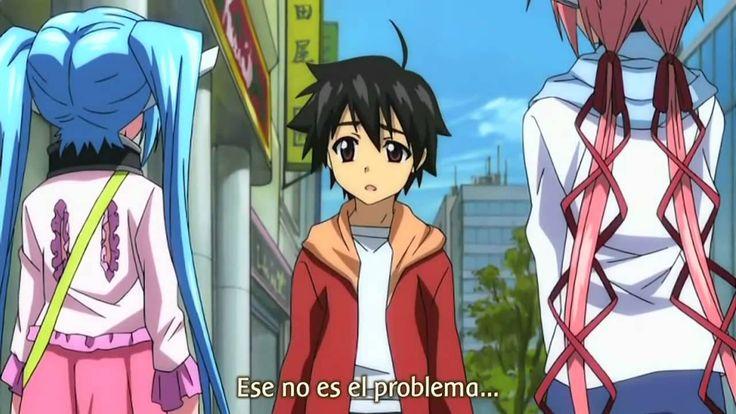 Sora no Otoshimono - Temp. 1 - Cap. 12 - La Cadena que no Permite el Escape