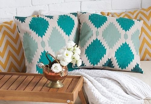 декоративные желтые подушки - Поиск в Google
