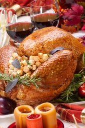 Find a great stuffing recipe and a link to a guide to cooking a turkey from Butterball. Gobble! Gobble! It's turkey time again.