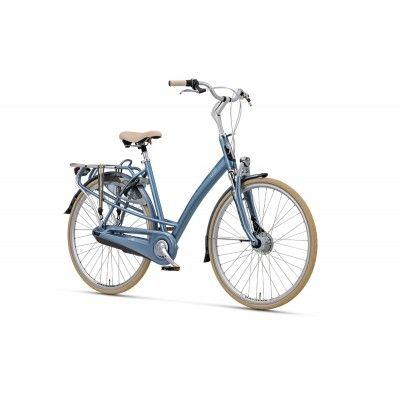 Rower Miejski Damski Batavus Bolero. Stylowy damski rower idealny do pracy oraz weekendowe wypady za miasto. http://damelo.pl/damskie-rowery-miejskie-rekreacyjne/465-rower.html