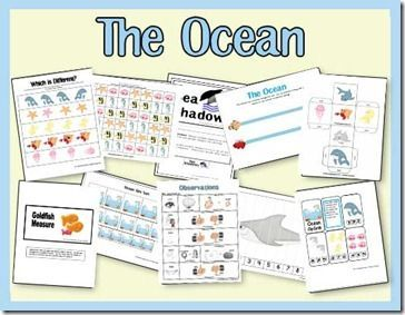 The Ocean- Free Printable