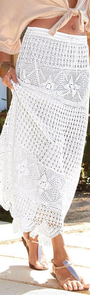 skirt SUMMER CROCHET