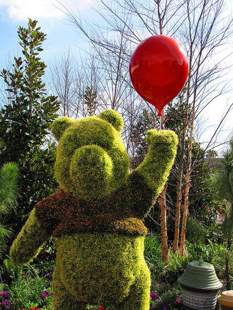 Pooh Topiary | Flickr - Photo Sharing!