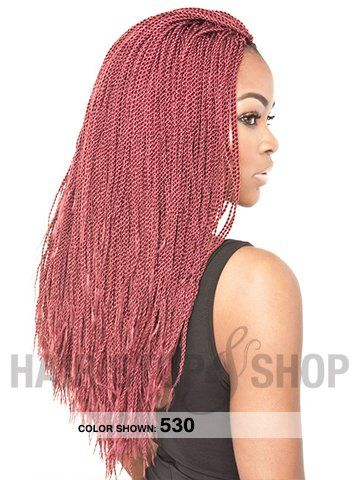 Isis Collection Faux Remi Senegalese Rope Twist Braid