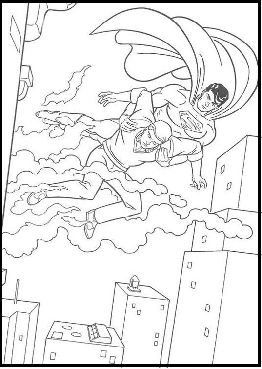 30 best superman images on pinterest | coloring pictures for kids ... - Printable Coloring Pages Superman