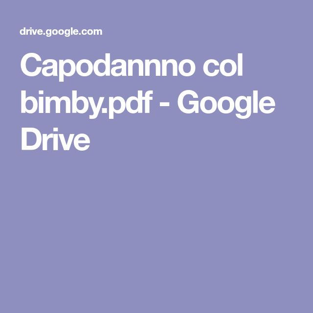 Capodannno col bimby.pdf - Google Drive