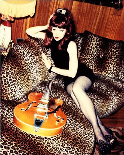 Poison ivy - The Cramps. God I miss going to those shows...