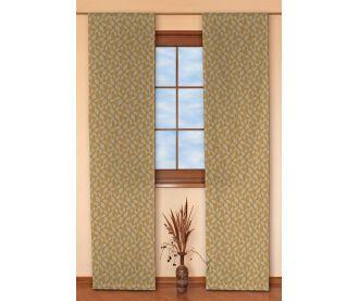 Zasłony panelowe 2 sztuki w kolekcji Bellagio, tkanina: 112-36
