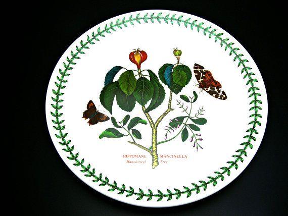 Portmeirion Botanic Garden Large Dinner Plate 10 Hippomane