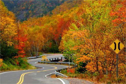 Fall Colors in Cape Breton