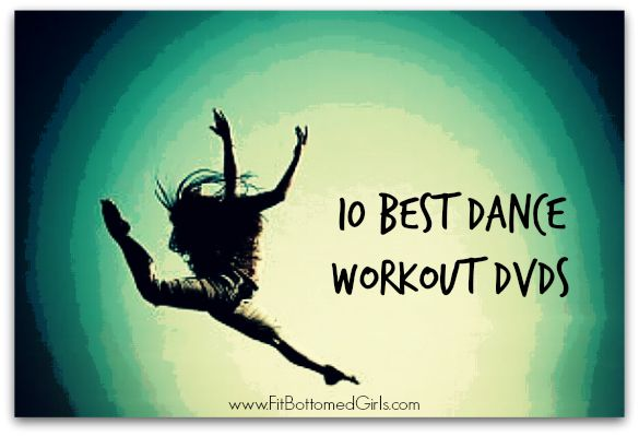 We review dance exercise DVDs to put together the 10 best dance workout DVDs ever!