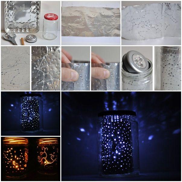 How to DIY Star Gazing Constellation Jar