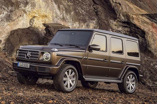 Mercedes-Benz Reveals Official Images for Its Brand New G-Class. #NAIAS2018