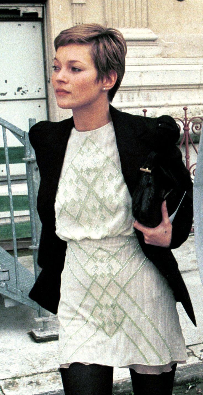H A I R // Kate Moss's Best Street Style Moments - HarpersBAZAAR.com
