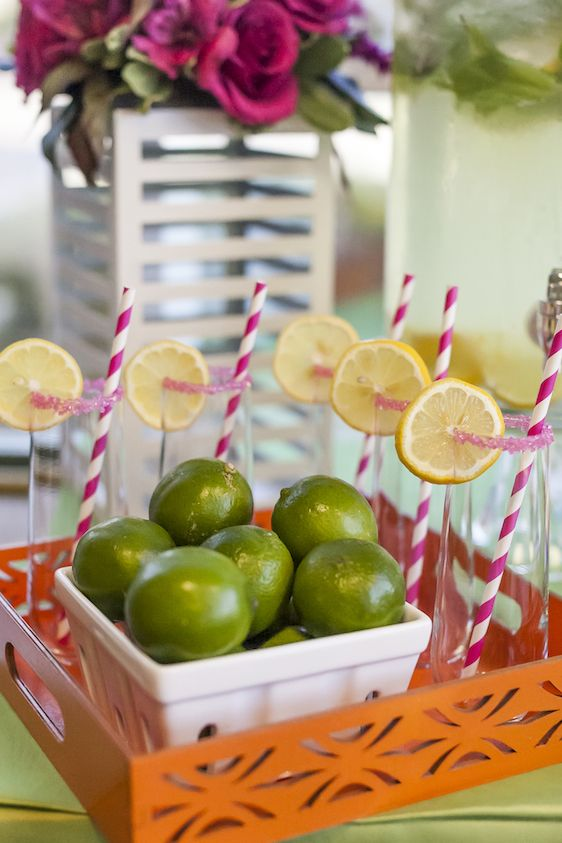 A Colorful Preppy Lilly Pulitzer Inspired Fete