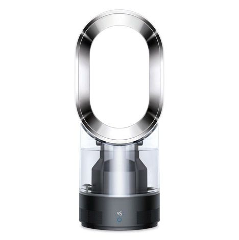 Dyson's first humidifier uses ultraviolet light to kill bacteria.