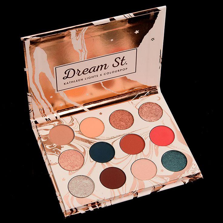 Sneak Peek: ColourPop Dream St. Palette & Dream Team Lip Trio Photos & Swatches