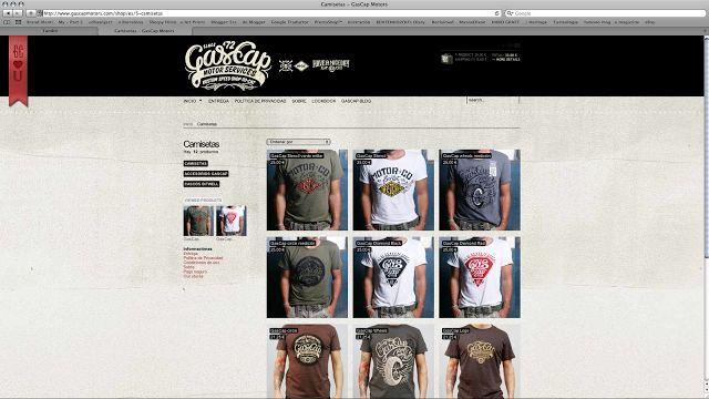 Gascap Motors Online-Store   Alex Ramon Mas StudioAlex Ramon Mas Studio
