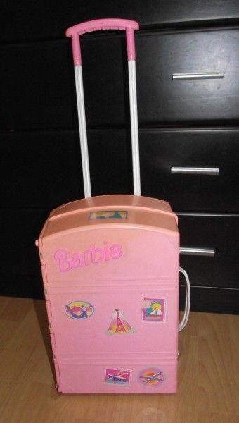 Troco Casa da Barbie - Mala de Viagem - trocar Brinquedos