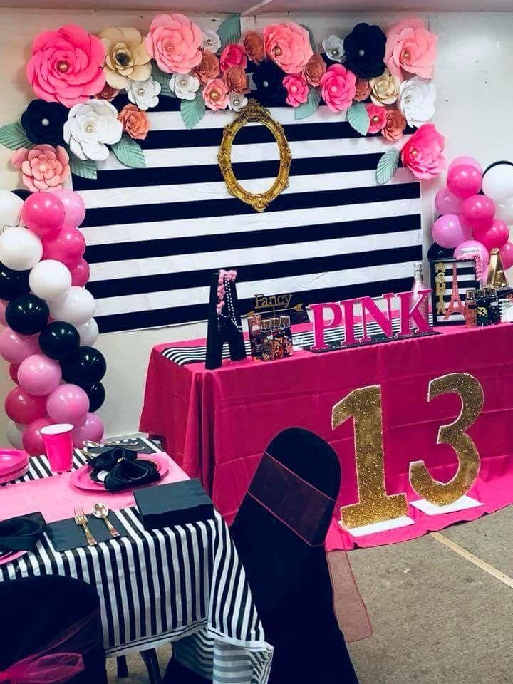 Pin By Klyneshia Jones On Victoria Secret Pink Birthday Party