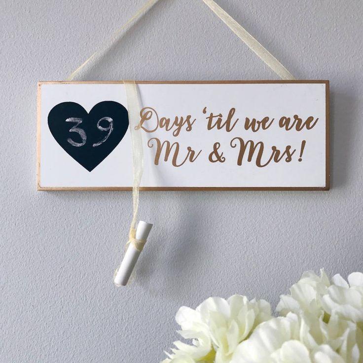 Year Wedding Countdown Checklist: The 25+ Best Wedding Countdown Ideas On Pinterest