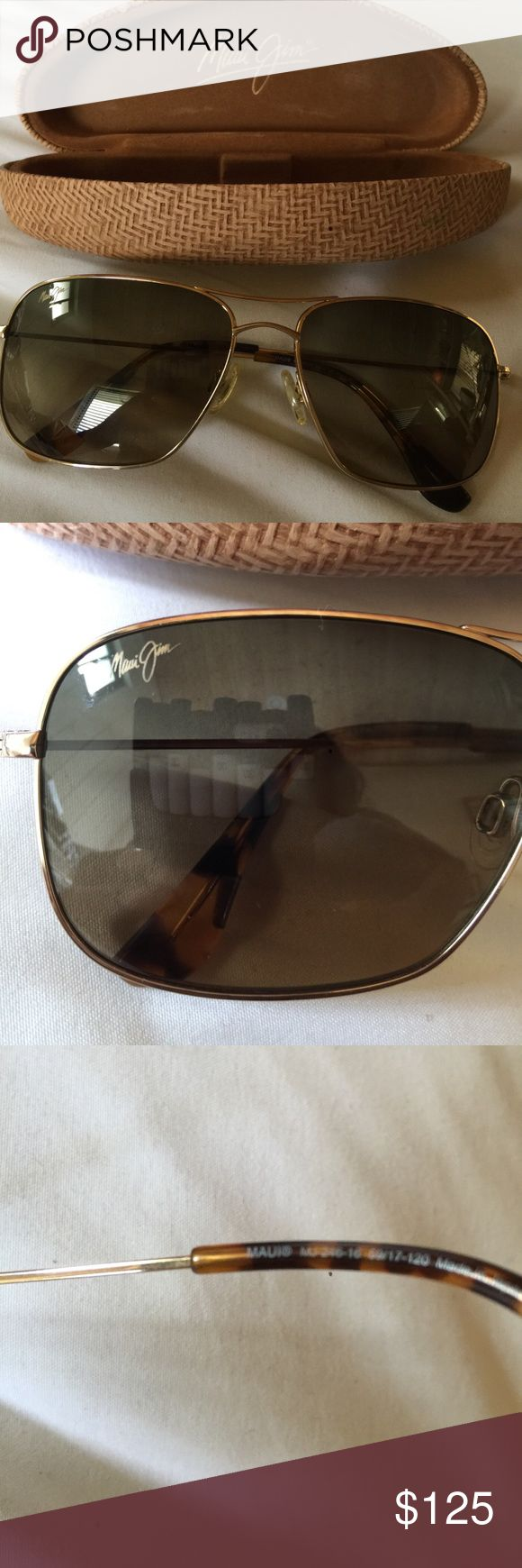 Maui Jim sunglasses, like new with case Maui Jim sunglasses, like new with case Maui Jim Accessories Sunglasses