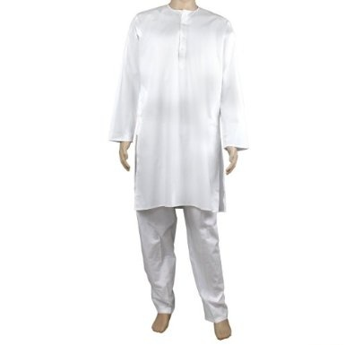 Kurta Pajamas Mens Cotton Yoga Dress: Amazon.co.uk: Clothing